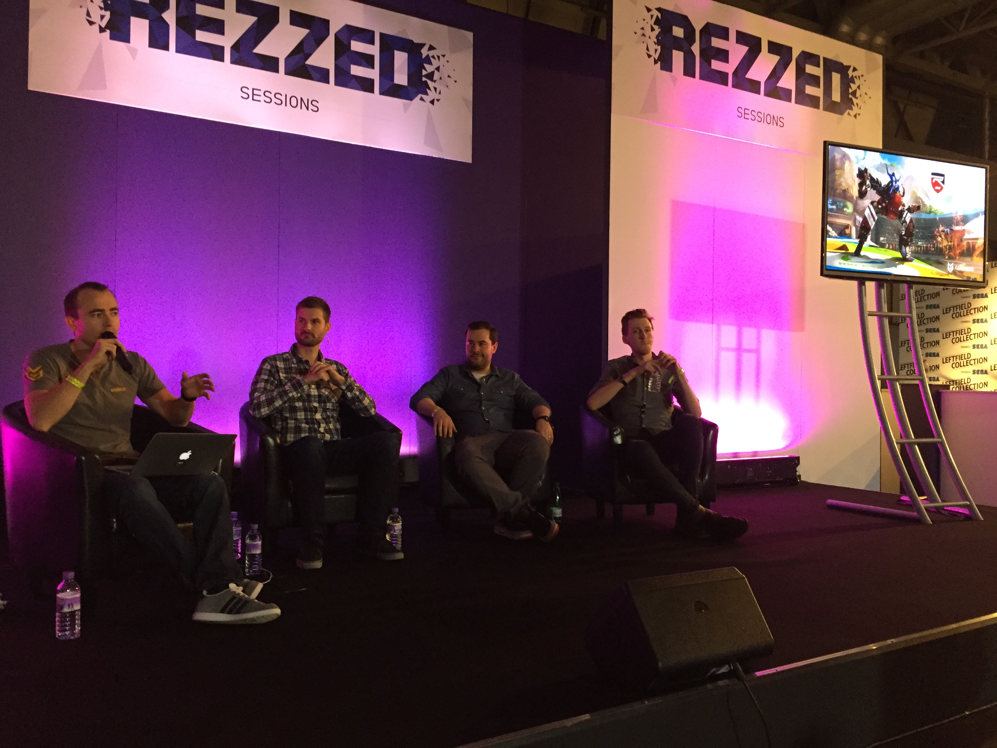Rezzed Design Panel