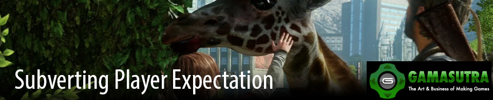 Subvertion Player Expectation Gamasutra