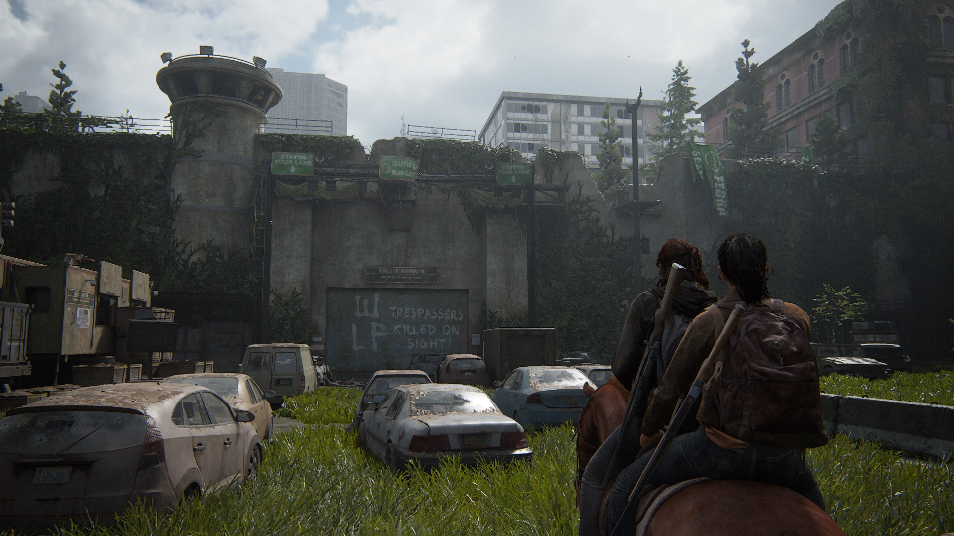 Seattle Quarantine Zone Wall